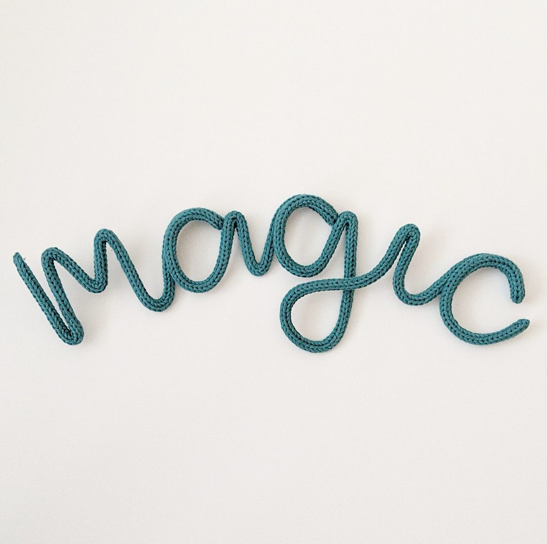 wire words sign